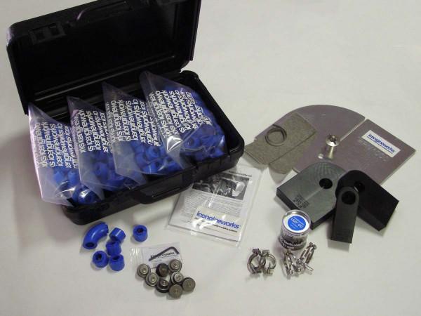 """icengineworks Komplettsystem / 1625 Serie / 1-5/8"""" (42mm) - 8 Zylinder Kit (Schritt 1, 2, 3)"""