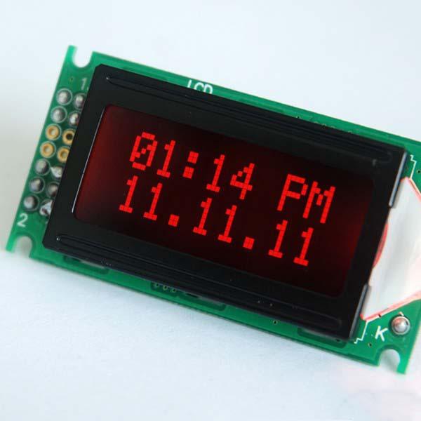 Zada Tech Uhr- und Datumfunktionalitätsanzeige