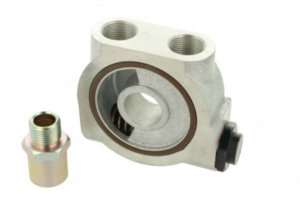 Ölfilter Adapter mit Thermostat M22 - für Ölkühler - Sandwichplatte