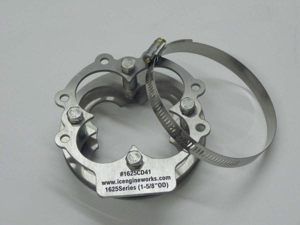 """icengineworks 4-in-1 Sammler Attrappe / 1625 Serie / 2 Teile Set für 1-5/8"""" (42mm)"""
