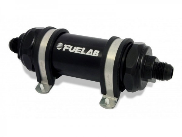 FueLab Benzinfilter / Kraftstofffilter 6micron -8AN